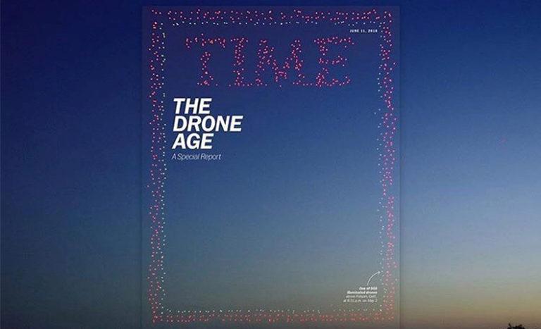 TIME誌、表紙、ドローン